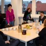 Begrüßung der Mitarbeiter der Potsdamer Sport-Star GmbH