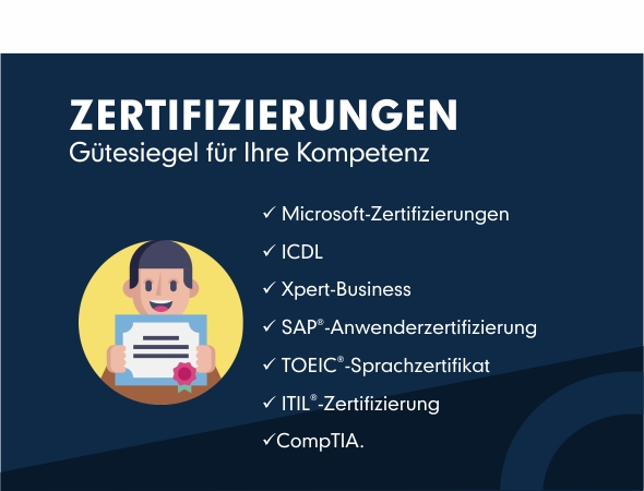 Comhard Zertifizierungen