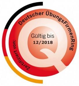 Qualitätssiegel des Deutschen ÜbungsfirmenRings