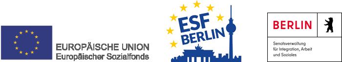 Förderung aus Mitteln des Europäischen Sozialfonds und der Senatsverwaltung für Integration, Arbeit und Soziales im Rahmen der Bezirklichen Bündnisse für Wirtschaft und Arbeit.