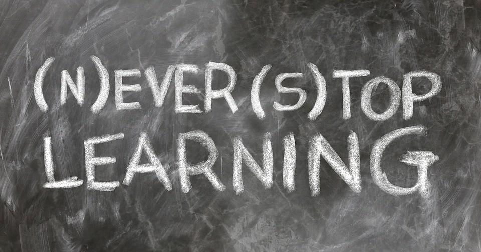 Man lernt nie aus